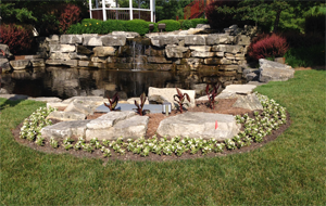 Subdivision Fountain